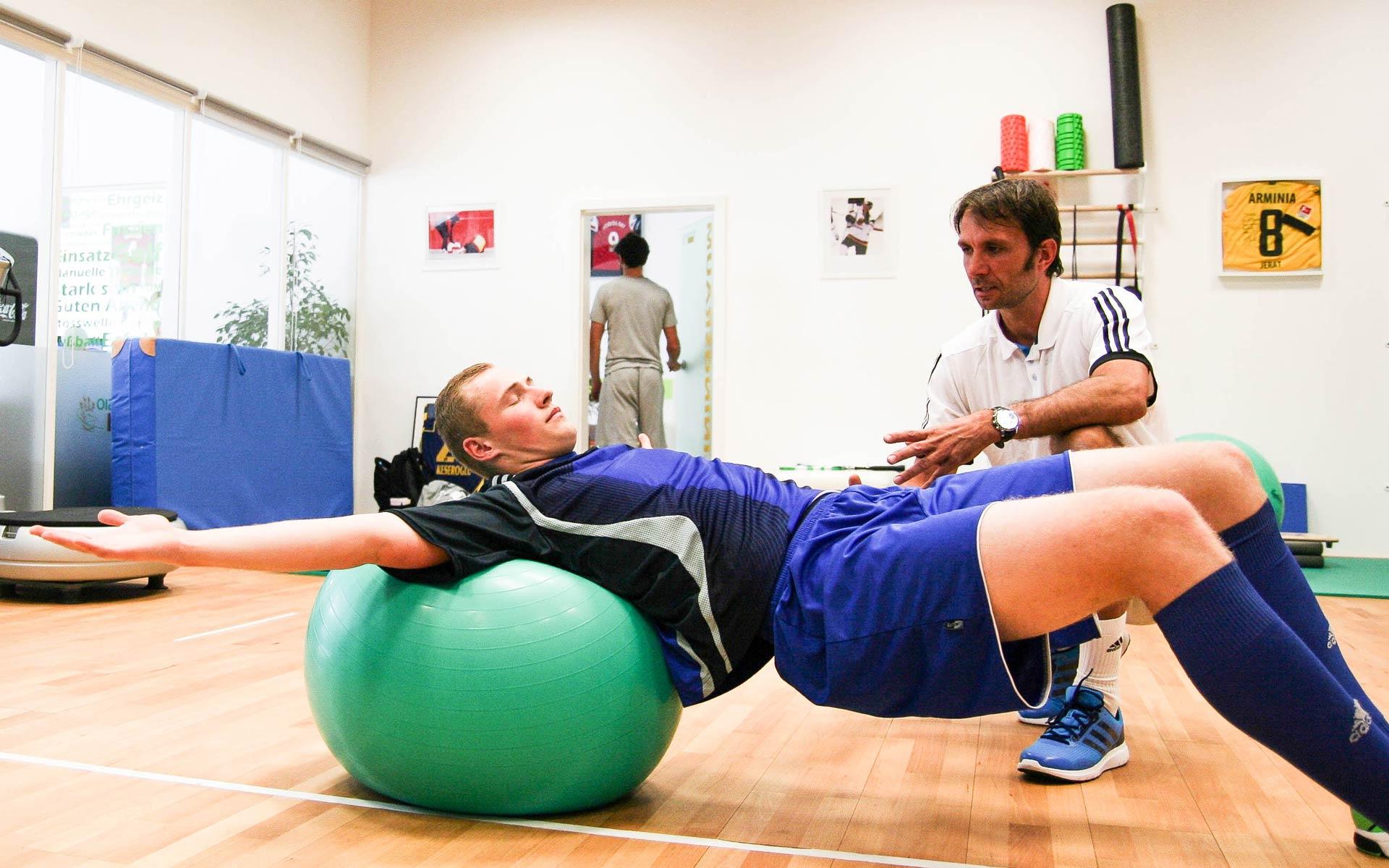 Athletiktraining für Fussballer, bei Heldenmacher von Alex Kuhnert