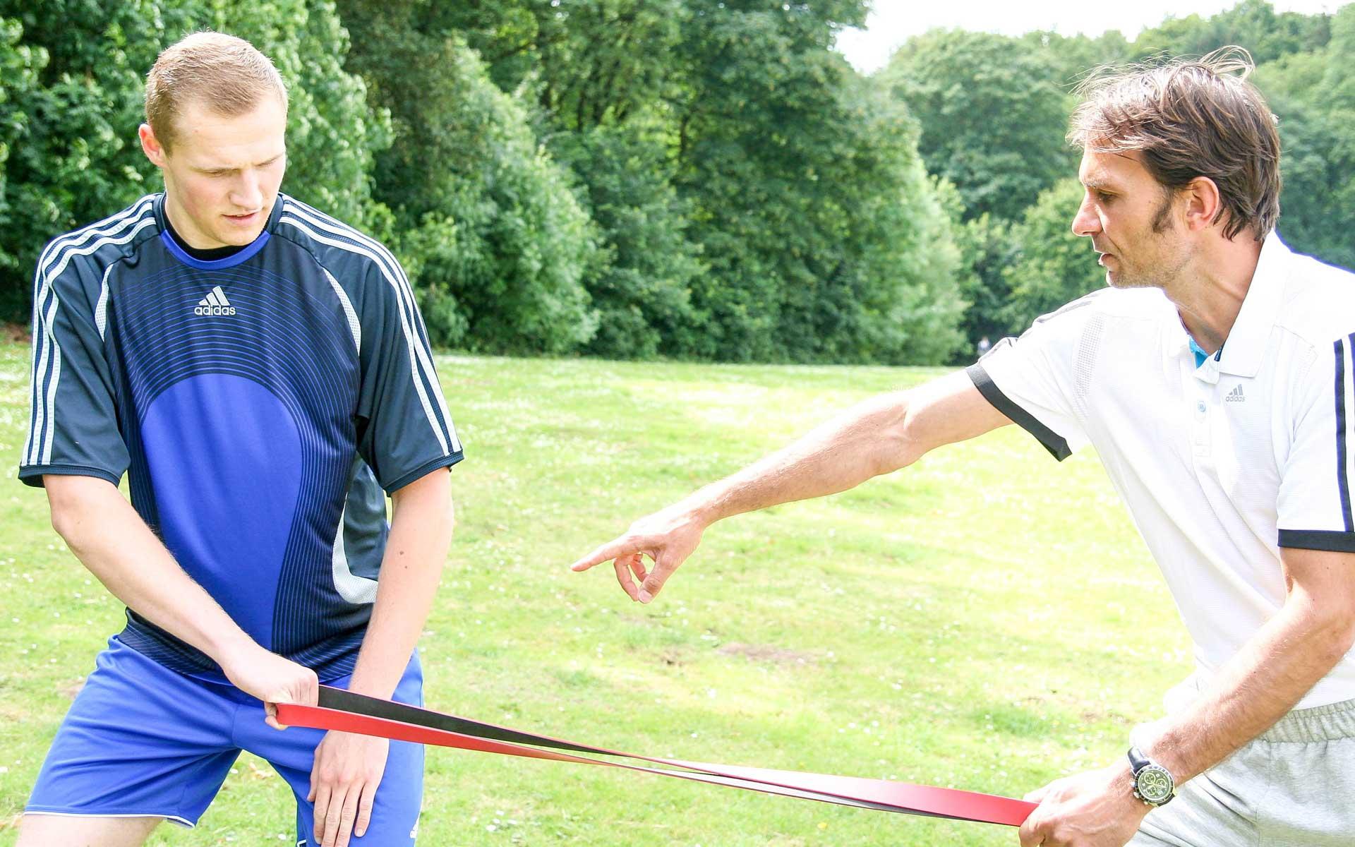 Athletiktraining und Personal Training, bei Heldenmacher von Alex Kuhnert