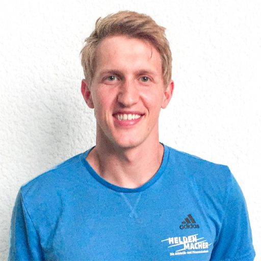 Joel Kühnle, Athletiktrainer bei Heldenmacher
